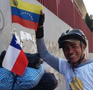 [VIDEO] Profesor venezolano pedaleó un año hasta llegar a Chile