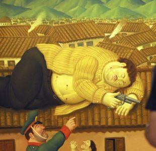 25 años de la muerte de Pablo Escobar: la historia detrás de los 2 cuadros que pintó Fernando Botero