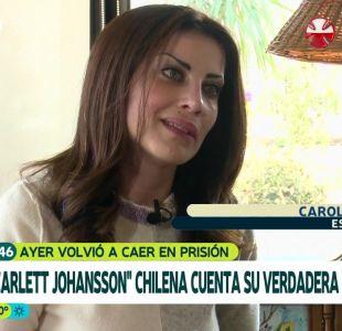 """Quién es la """"Scarlett Johansson chilena"""" detenida por estafa"""