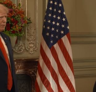 "[VIDEO] Trump: ""Estados Unidos ha sido estafado por muchos y diferentes países"""