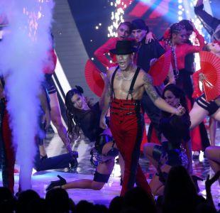 "[VIDEO] Increíble show de los Power Peralta incluyó baile de famosa actriz de ""Pacto de Sangre"""