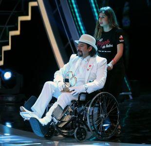 Bombo Fica cuenta cómo se lesionó: Entró en silla de ruedas a escenario de la Teletón