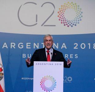 """Piñera sobre acuerdos ambientales: """"Sabemos que son insuficientes, que todavía no se están logrando"""""""