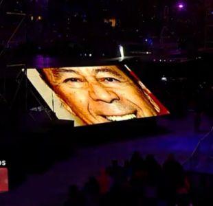 [VIDEO] El emotivo homenaje a Lucho Gatica en el cierre de la Teletón 2018