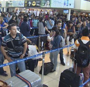 [VIDEO] Récord de 22 millones de pasajeros en el aeropuerto