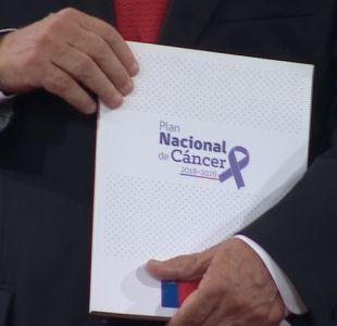 [VIDEO] Gobierno presenta ley nacional del cáncer: ¿En qué consiste?