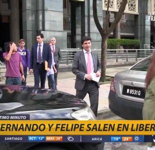 Las primera imágenes de los chilenos liberados en Malasia