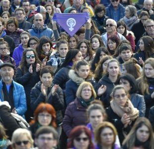 Fotografía referencial Marcha Feminista España