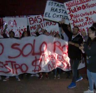 [VIDEO] Estudiantes se toman Universidad del Pacífico ante posible cierre