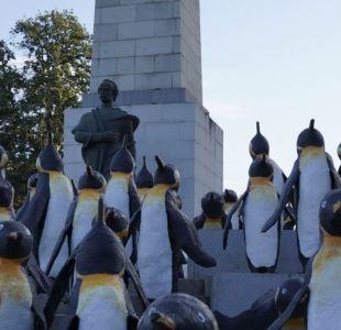 Mil pingüinos en Plaza Italia: Así han reaccionado las redes