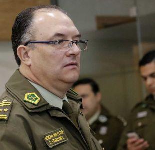 Gobierno pide renuncia a jefe de Orden y Seguridad de Carabineros