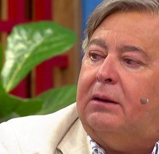 [VIDEO] Ernesto Belloni llora emocionado al hablar de sus hijos