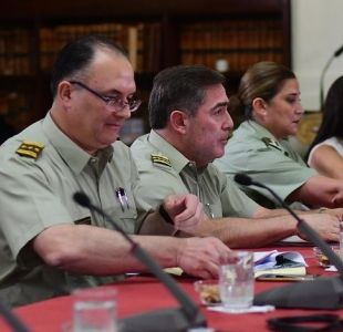 Franzani: Quién es el renunciado jefe de Orden de Carabineros