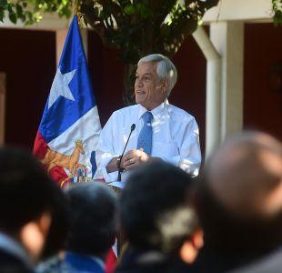 Piñera encabeza Consejo de Gabinete