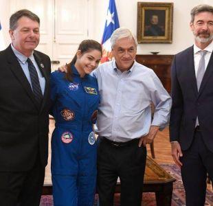[VIDEO] La broma del Presidente Piñera a la joven que se prepara para viajar a Marte