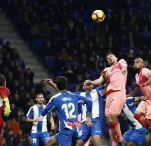 """""""Un toro salvaje"""": La reacción de la prensa española al partido de Arturo Vidal"""