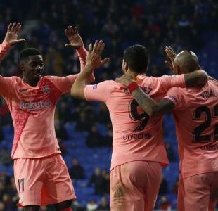 """""""Nació con 5 pulmones"""": Hinchas del Barcelona se rinden a Arturo Vidal"""