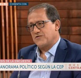 """[VIDEO] Harald Beyer sobre CEP: """"Lavín es interesante porque es el político con menos rechazo"""""""