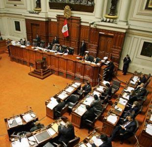 Perú aprueba eliminar la reelección inmediata de sus parlamentarios
