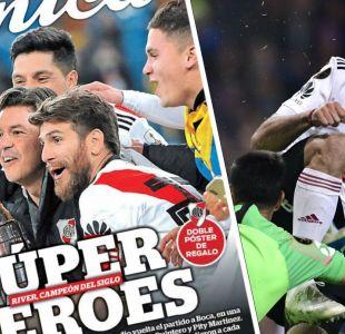 River campeón de la Copa Libertadores: portadas prensa argentina