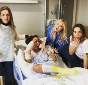El duro accidente que sufrió Mel B y que pudo cambiar los planes de regreso de Spice Girls