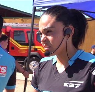 [VIDEO] Belén, la primera mujer árbitro del fútbol chileno