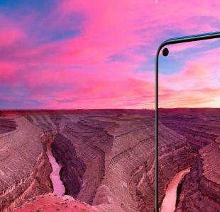 Samsung Galaxy A8s y Huawei Honor View20: los celulares con cámara selfie incrustada en la pantalla