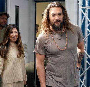 """El anillo que une a """"Aquaman"""" con el ex de su esposa (que casualmente es Lenny Kravitz)"""