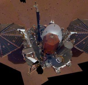 La sonda InSight de la NASA toma su primer selfie sobre la superficie de Marte