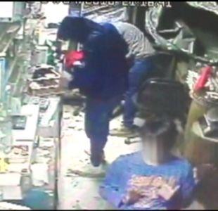 [VIDEO] Cae asaltante que golpeaba a sus víctimas en la región del Biobío