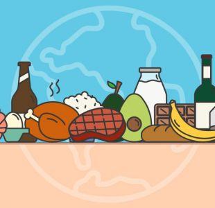 Ponte a prueba: usa la calculadora que te dice cómo lo que comes y bebes impacta en el ambiente