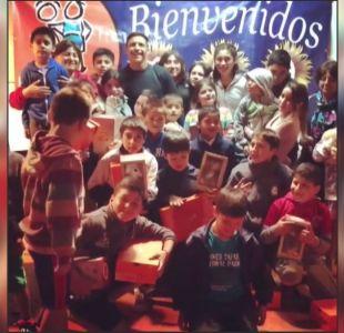 [VIDEO] Alexis hizo visita a niños y estos lo sorprendieron