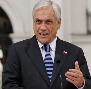 """Piñera acusa """"desorden migratorio"""" y sostiene que pondrá """"orden en nuestra casa"""""""