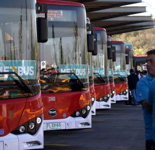 [VIDEO] Inicia operación de los primeros buses eléctricos del Transantiago.