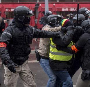 """Francia: 168 detenidos en nueva marcha de los """"chalecos amarillos"""""""