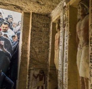 La tumba única en su tipo que fue descubierta en Egipto y que estuvo intacta por 4.400 años