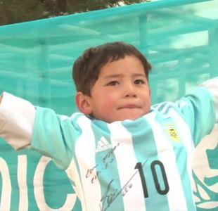 "[VIDEO] Talibanes amenazan al ""pequeño Messi"""