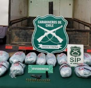 Realizan decomiso de marihuana valorado en 130 millones de pesos