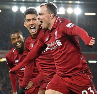 Liverpool recuperó el liderato de la Premier tras vencer al Manchester United en el clásico inglés