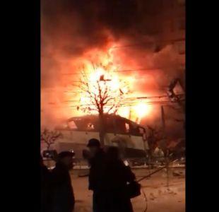 Explosión en restaurante de Japón deja al menos 40 heridos
