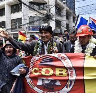Evo Morales acelera campaña por reelección, ante creciente rechazo opositor