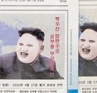 Cómo una mascarilla con la cara del líder de Corea del Norte causa controversia en Corea del Sur