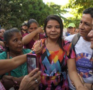 Liberan a la joven de El Salvador acusada de homicidio tras tener un bebé producto de una violación