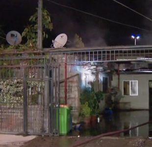 [VIDEO] Incendio deja a 11 damnificados en Puente Alto