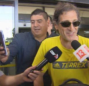 [VIDEO] Salas quiere reforzar la delantera de Colo Colo