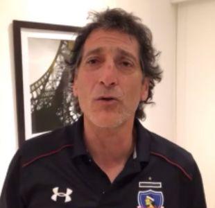 [VIDEO] Así fue el primer recorrido de Mario Salas por el Estadio Monumental