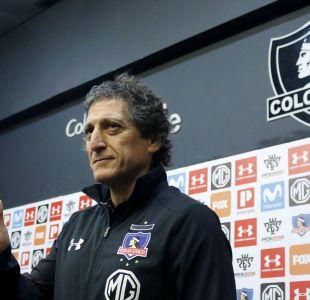 Mario Salas en su llegada a Colo Colo: Es el desafío más grande de nuestras carreras