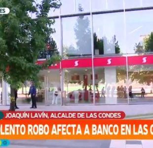 Asalto a banco en Las Condes