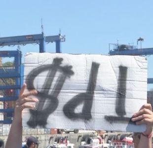 [VIDEO] TPS desconoció que exista paro porturario en Valparaíso