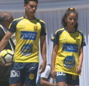 [VIDEO] La UDEC presentó nueva camiseta